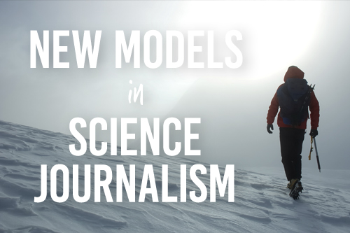 New Models in Science Journalism